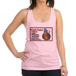 car sign Racerback Tank Top