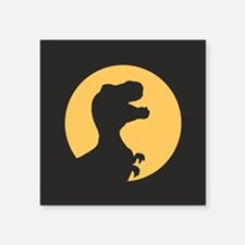 T Rex Howling Sticker