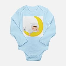 Baby on the Moon Body Suit