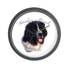 Newfie Dad2 Wall Clock