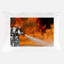 Firefighters in Action Pillow Case