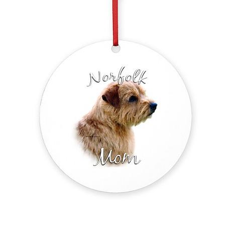Norfolk Mom2 Ornament (Round)