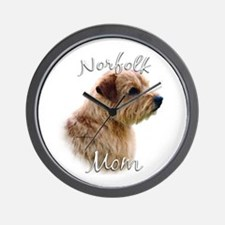 Norfolk Mom2 Wall Clock