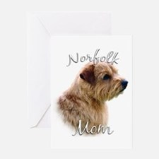 Norfolk Mom2 Greeting Card
