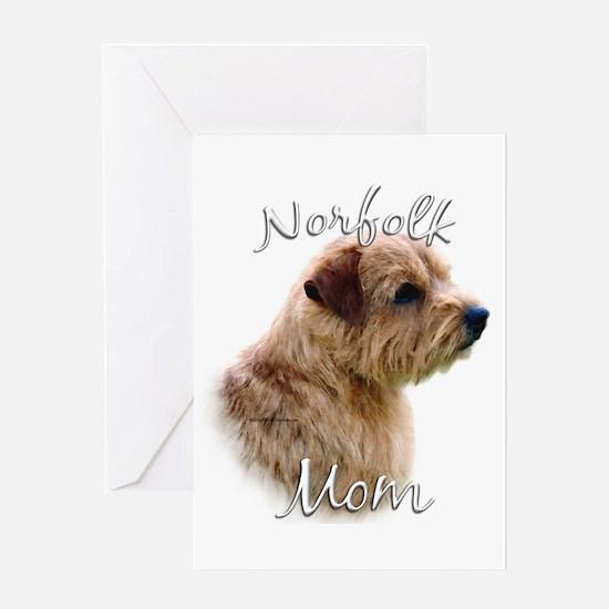 Norfolk Mom2 Greeting Card
