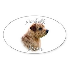 Norfolk Mom2 Oval Decal
