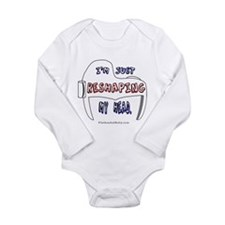 Unique Tummy Long Sleeve Infant Bodysuit