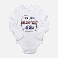 Unique With the band Long Sleeve Infant Bodysuit