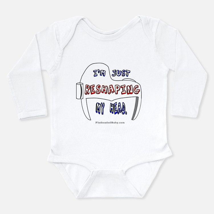 Cute Doc band Long Sleeve Infant Bodysuit