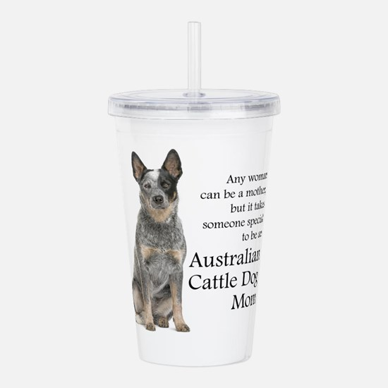 Cute Cattle dog Acrylic Double-wall Tumbler