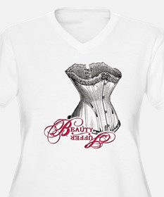 Beauty and Suffering: Corset T-Shirt