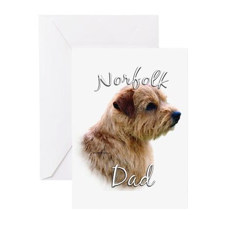 Norfolk Dad2 Greeting Cards (Pk of 10)