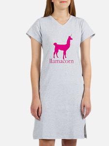 Cute Cute llama Women's Nightshirt