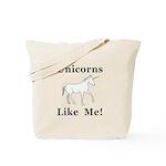 Unicorns Like Me Tote Bag