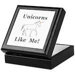 Unicorns Like Me Keepsake Box