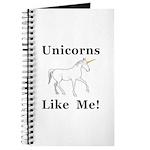 Unicorns Like Me Journal