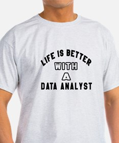 Data Analyst Designs T-Shirt