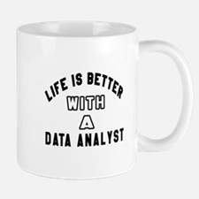 Data Analyst Designs Mug