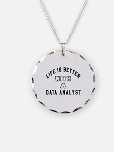Data Analyst Designs Necklace