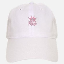 Pretty Pink Because Im the Princess Baseball Baseball Cap