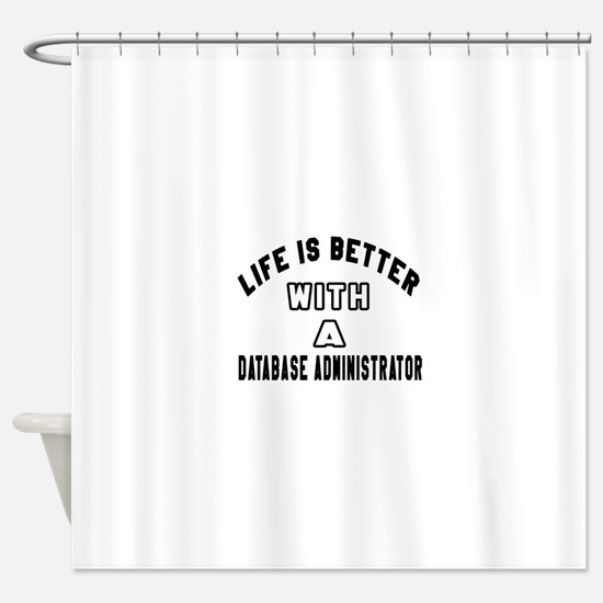 Database Administrator Designs Shower Curtain