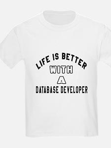 Database Developer Designs T-Shirt