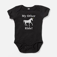 Unicorn Ride Baby Bodysuit