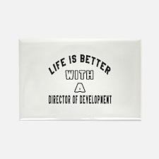 Director of Developmen Rectangle Magnet (100 pack)