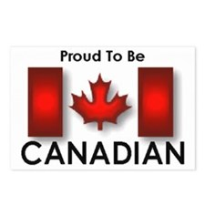 Proud To Be Canadian Postcards (Package of 8)