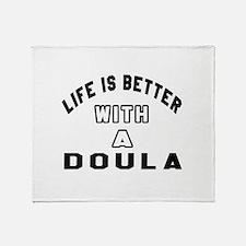 Doula Designs Throw Blanket