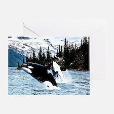 Cute Orca Greeting Card