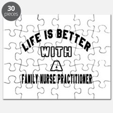 Family Nurse Practitioner Designs Puzzle