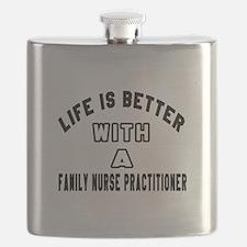 Family Nurse Practitioner Designs Flask