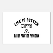Family Practice Physician Postcards (Package of 8)