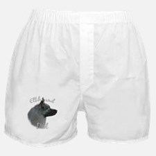 Elkhound Dad2 Boxer Shorts