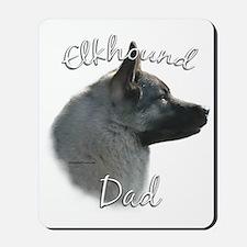 Elkhound Dad2 Mousepad