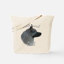 Elkhound Dad2 Tote Bag