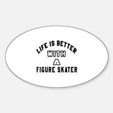 Figure Skater Designs Decal