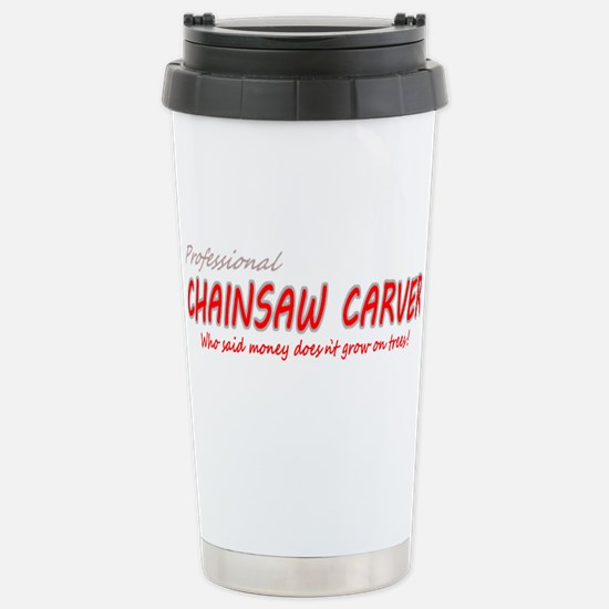 Unique Chainsaw Travel Mug