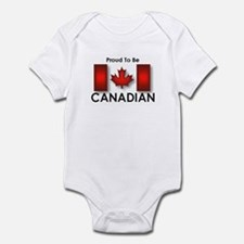 Proud To Be Canadian Infant Bodysuit
