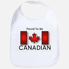 Proud To Be Canadian Bib