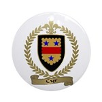 CYR Family Crest Ornament (Round)