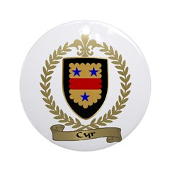 CYR Family Crest Ornament (Round)