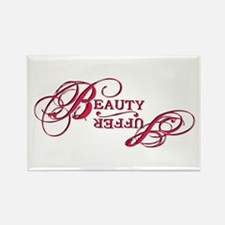 Suffer / Beauty Rectangle Magnet