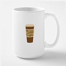 no talkie before coffee Mugs