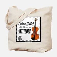 Violin Fiddle String Music Tote Bag