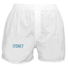 SYDNEY (Blue) - Boxer Shorts