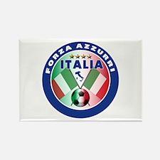 Italian Forza Azzurri Rectangle Magnet (10 pack)