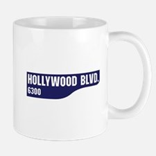 Hollywood Boulevard, Los Angeles, CA Small Small Mug