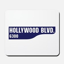Hollywood Boulevard, Los Angeles, CA Mousepad